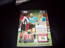 Dunfermline Athletic v Inverness Caledonian Thistle, 1999/2000